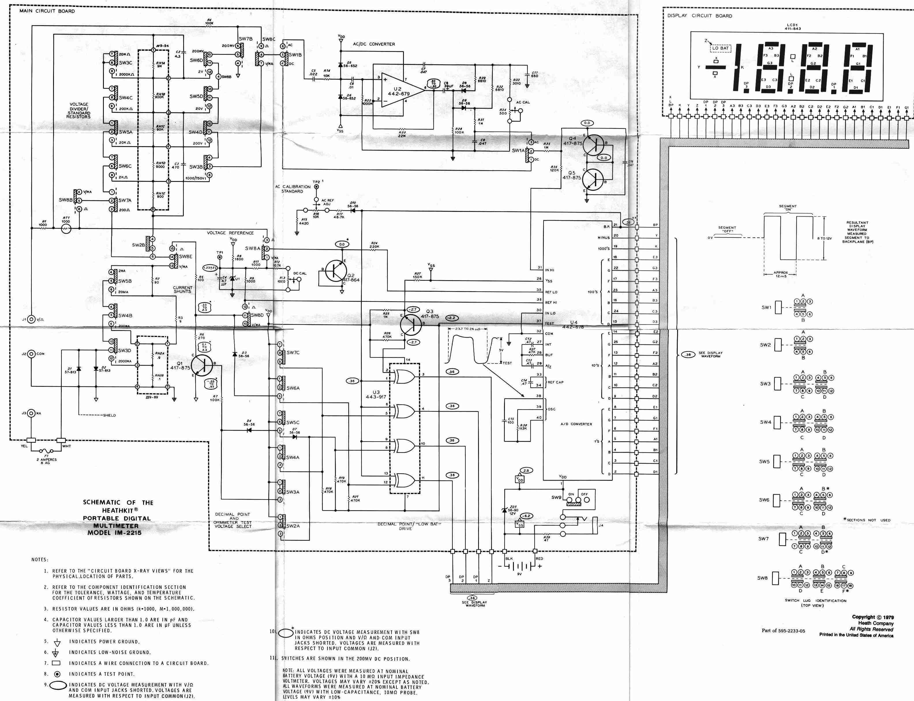 Which Digital Multimeter Page 6 Uk Vintage Radio Repair And Icl7106 Voltmeter Circuit Edit To Be Clear It Needs Fluke Style Input Protection Added Not That Comes With